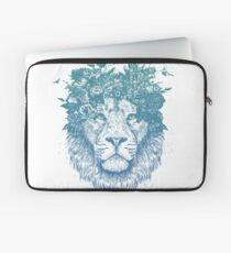 Floral lion Laptop Sleeve