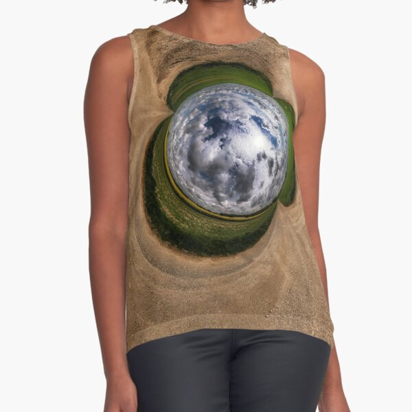 On a cloudy day Sleeveless Top