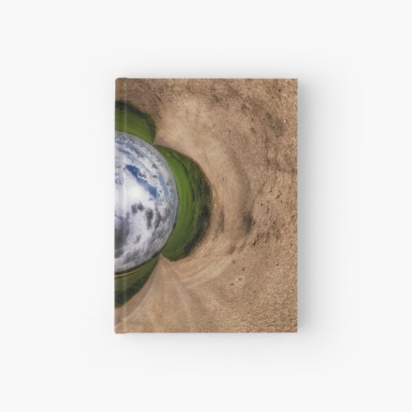 On a cloudy day Hardcover Journal