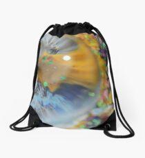 Glitter Magnification Drawstring Bag