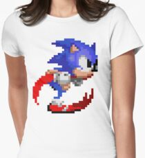 Super Sonic Speed Womens Fitted T-Shirt