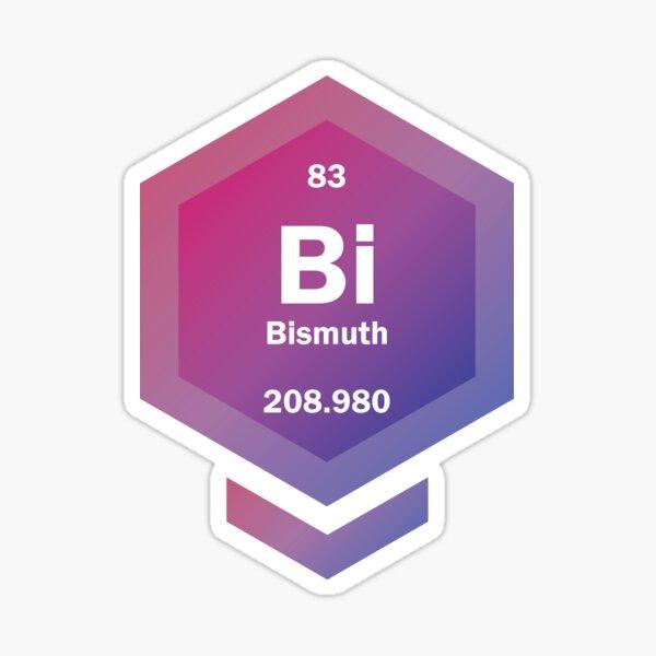 Bi [periodic hex] Sticker