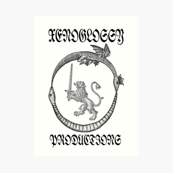 Xenoglossy Prod. #2 Art Print