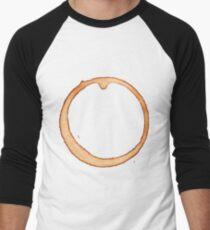Vector coffee ring Men's Baseball ¾ T-Shirt