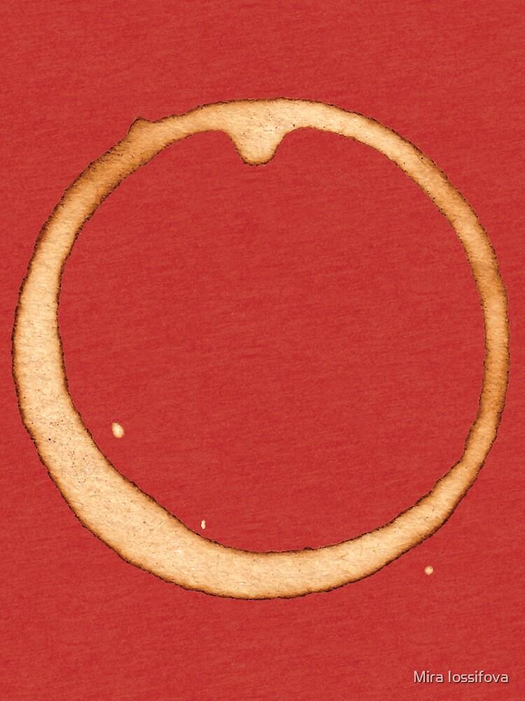 Vector coffee ring by Mira-Iossifova