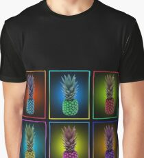 Colourful pineapples Graphic T-Shirt
