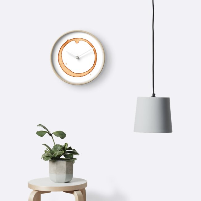 Vector coffee ring by Mira Iossifova