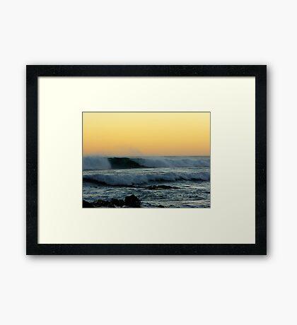 Mocean Framed Print