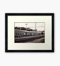 Urbanex 11 Nettuno Rails Framed Print