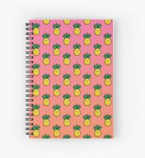 Tropical Pineapple Spiral Notebook