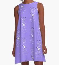 Reina con peon A-Line Dress