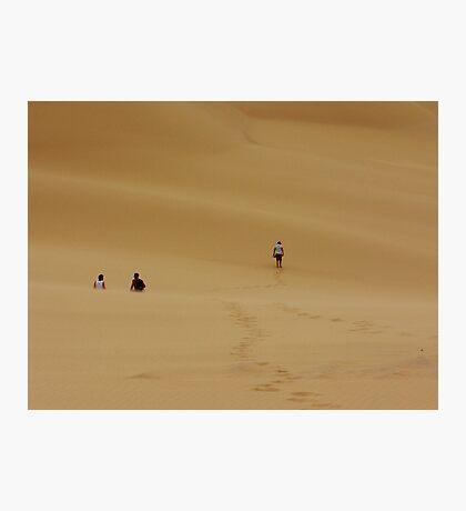 Dunes Walk Photographic Print