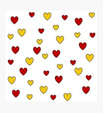 Ten and Thirty Hearts Photographic Print