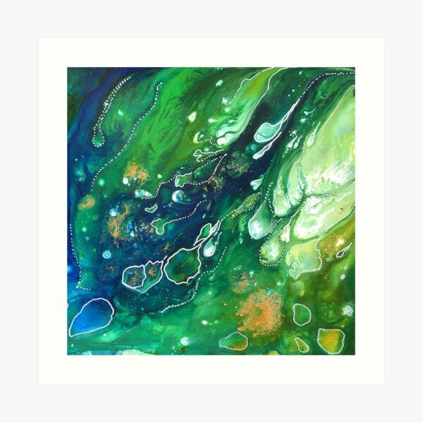 Algea Bloom Art Print