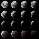 Moon Eclipse by Nando MacHado