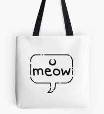 denae*sketch - M E O W Tote Bag