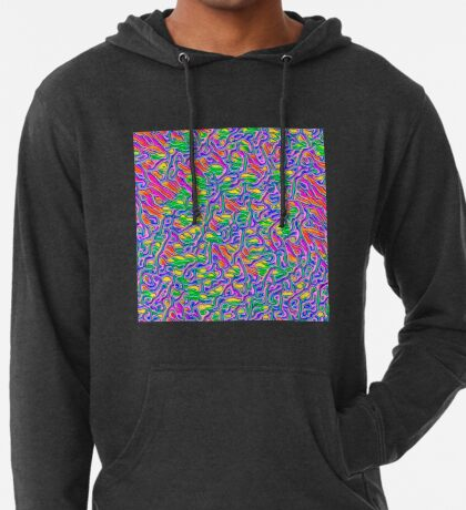 Abstract flowers Lightweight Hoodie