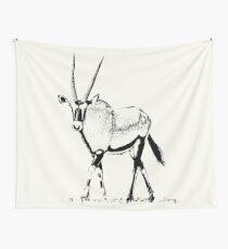 Male Gemsbok | African Wildlife Wall Tapestry