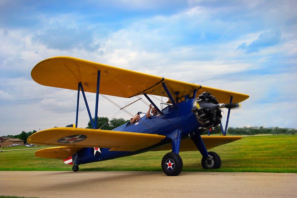 Biplane by Michael Wolf