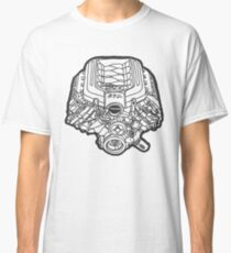 Ford Mustang GT 5.0 V8 Engine Classic T-Shirt
