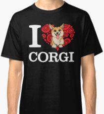 I Love Corgi T-shirt Classic T-Shirt