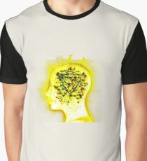 Yellow Mindsweep Graphic T-Shirt