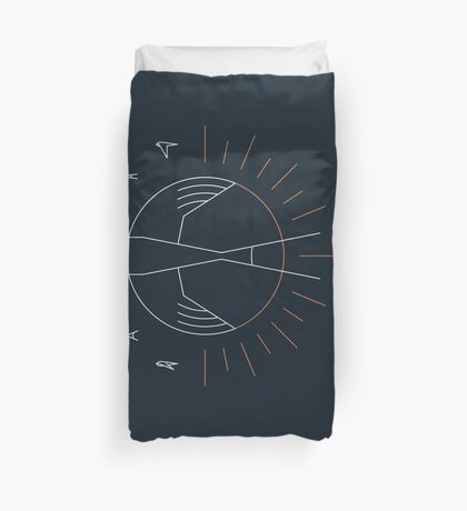 Swallow The Sun Duvet Cover