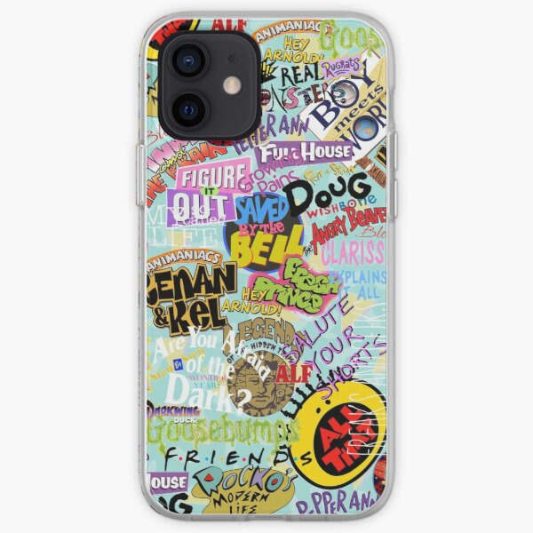 Childhood Tv iPhone Soft Case