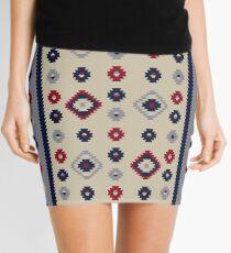 Traditional motif Mini Skirt