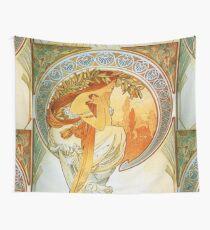 Alphonse Mucha, Vintage Wall Tapestry