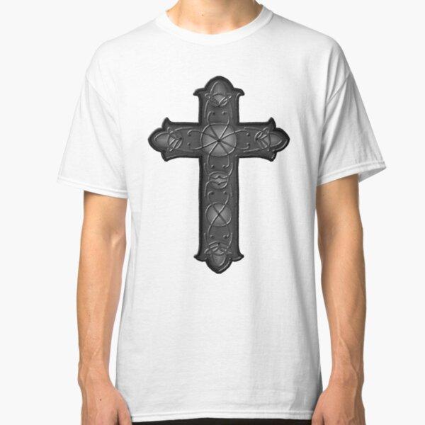 Irish Shield Warrior Celtic Cross Knot Boys Uniform Short Sleeve Fashion Crewneck Classic T-Shirt