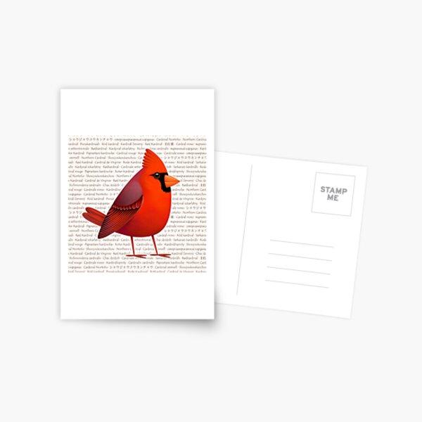 Masked Cardinalis Postal