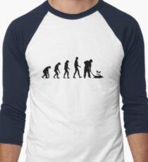 Evolution Gardening Men's Baseball ¾ T-Shirt