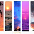 sunsets by Devika Fernando