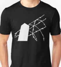 White Wire Fence Unisex T-Shirt