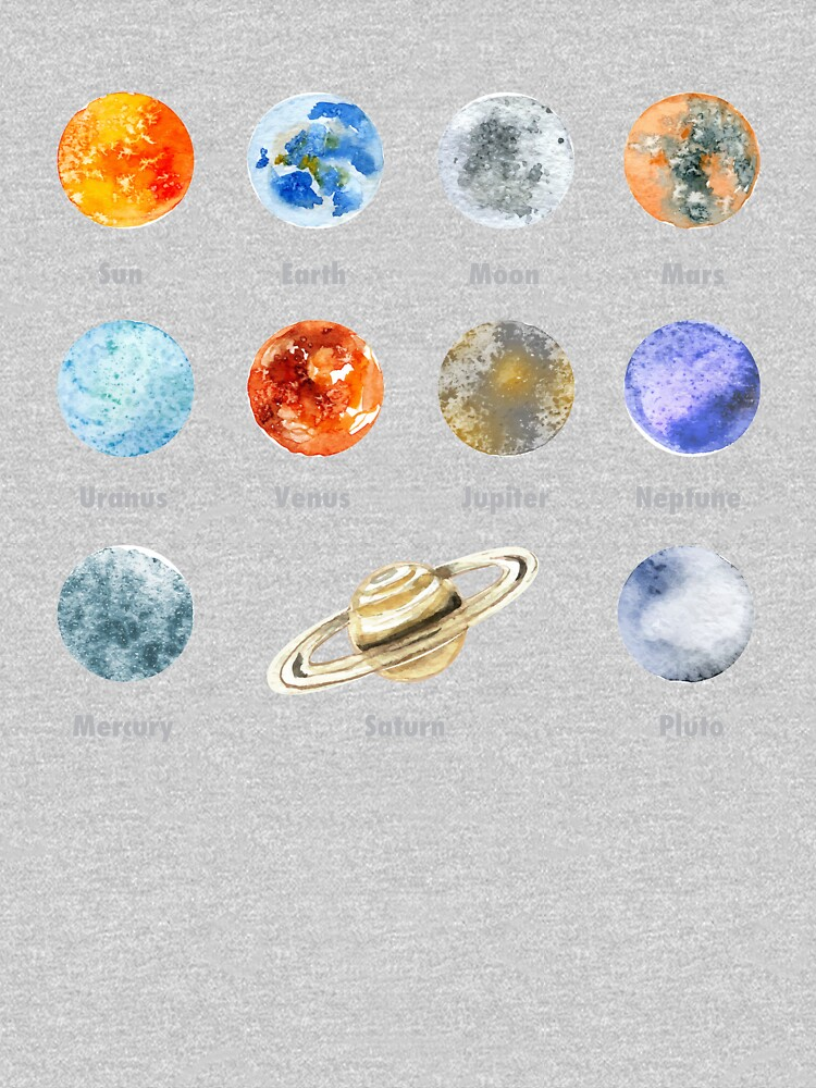 Planets of The Solar System by vladocar