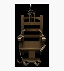 Electric Chair Photographic Print