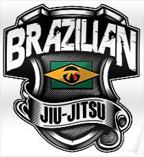 BRAZILIAN JIU JITSU 1 - MARTIAL ART Poster