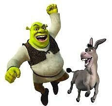 Shrek and Donkey Friends Forever  by ctarnow