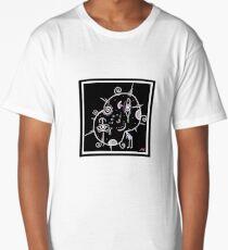 cute and weird alien cartoon  Long T-Shirt