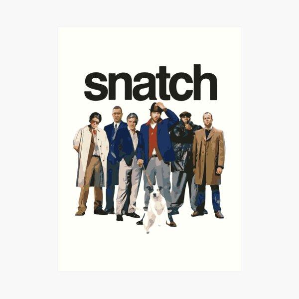 Snatch Movie Vector Art Print