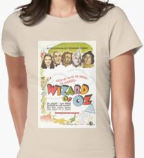 Wizard of Oz Movie Poster Womens Fitted T-Shirt