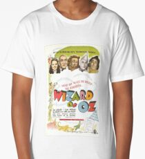 Wizard of Oz Movie Poster Long T-Shirt