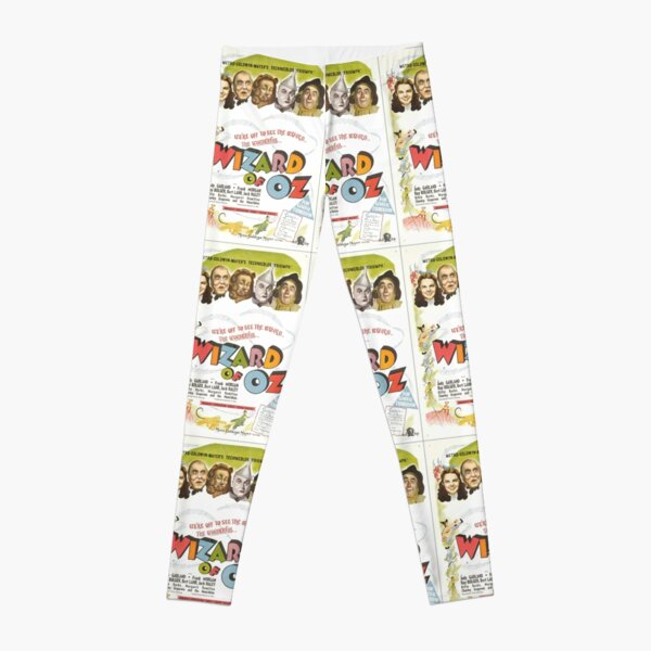 Wizard of Oz Movie Poster Leggings