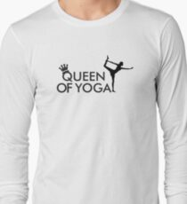 Queen of yoga Long Sleeve T-Shirt