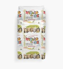Wizard of Oz Movie Poster Duvet Cover