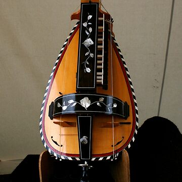 Beautiful French Hurdy Gurdy by patjila