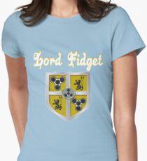 Fidget Spinner Lord Fidget Womens Fitted T-Shirt