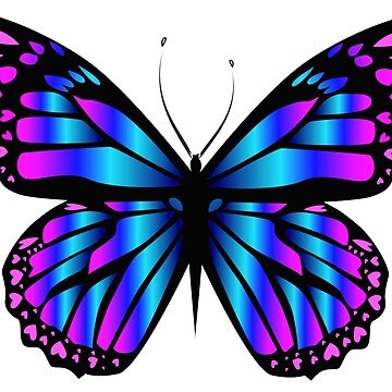 Neon Butterfly by domidurand