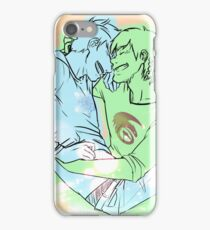 Laughs in a lazy afternoon. - Hijack (Jack Frost/Hiccup) fanart iPhone Case/Skin